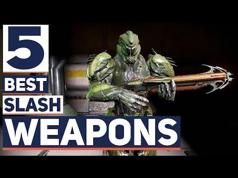 Warframe: 5 BEST ENDGAME Slash Damage Weapons