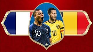 Kommenterar Frankrike-Belgien