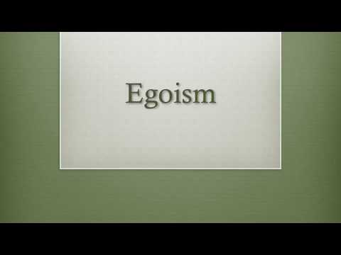 Egoism, Altruism, & Social Contract Theory