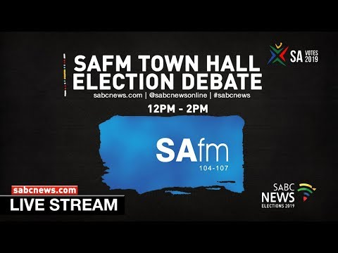 SAfm election Town hall debate - Newclare, Johannesburg, 22 March 2019