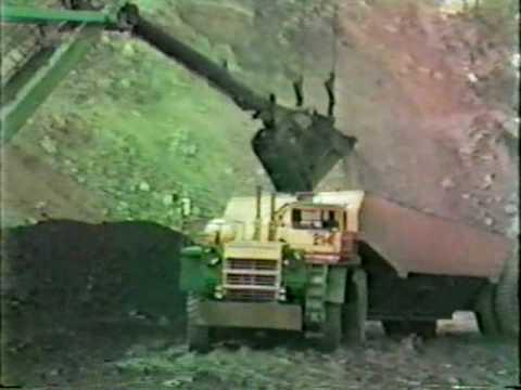 Peabody Coal Company 3850-B Shovel Sinclair Surface Mine Clip