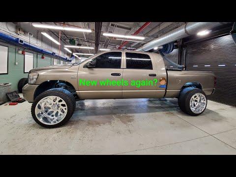 Dodge Ram Cummins on 24x14 American Force Wheels
