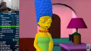 The Simpsons: Hit & Run 100% Speedrun [World Record] in 3:16:58