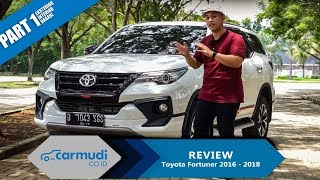 REVIEW Toyota Fortuner 2016-2018: SUV Metropolitan (Part 1 dari 2)