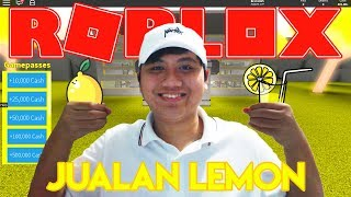 THE SECRET OF SELLING LEMON SO RICH?! -Roblox Indonesia