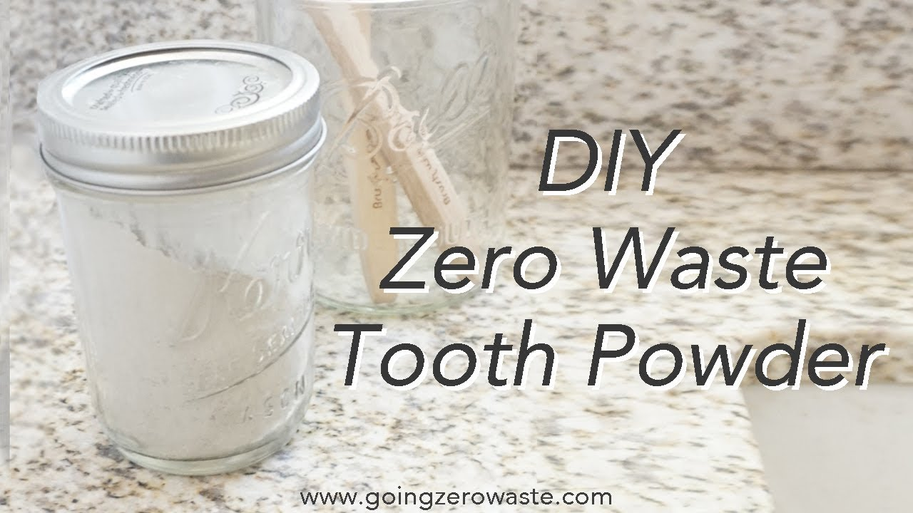 Dentist Approved Toothpowder + Brush With Bamboo - Going