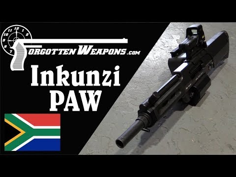 Inkunzi PAW aka Neopup - 20mm Direct-Fire Grenade Launcher