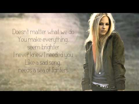 Avril Lavigne - Falling Fast (Lyric On Screen) HQ [NEW SONG 2013]