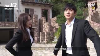 Video Yoona Ji Chang Wook - THE K2 BTS download MP3, 3GP, MP4, WEBM, AVI, FLV Februari 2018