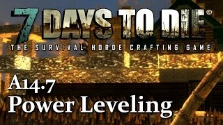 Power Leveling Weapon Smithing - How to level up fast In 7 Days To Die
