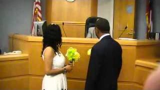 Courthouse wedding of Camelia and Darnell thumbnail
