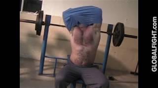 Carolina Jim Hairychest Musclebear Flexing Posing Beefy Guy