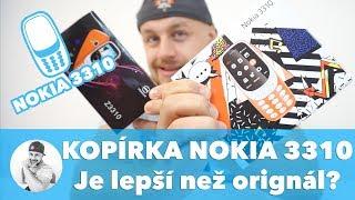Může být kopie NOKIA 3310 LEPŠÍ  NEŽ ORIGINÁL... ???