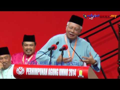 #PAU2014 : UMNO Tidak Bela Pemimpin Kantoi Macam Pembangkang