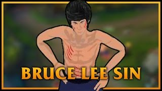 Bruce Lee Sin LoL Custom Skin ShowCase