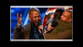 Britain's Got Talent: Lifford Shillingford wins Alesha Dixon's Golden Buzzer after moving auditio...