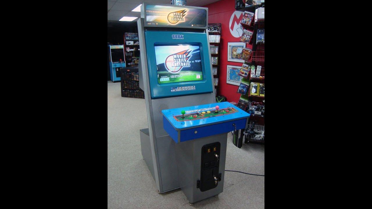 Sega Naomi World Series Baseball Arcade Game - Gameplay, Artwork ...