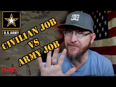 5 Differences Between A Civilian Job And Being In The Army