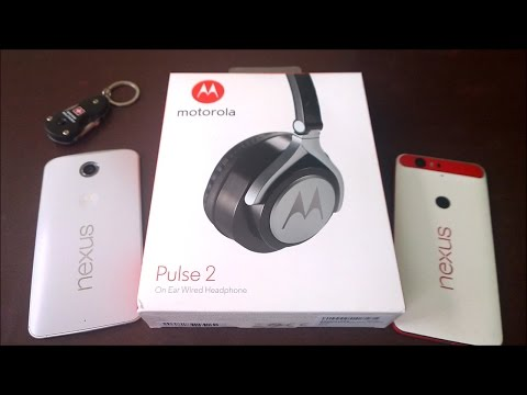 Motorola pulse 2 On Ear Wired Headphone Unboxing and Complete Review