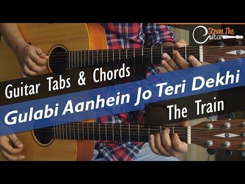 Guitar gulabi aankhen guitar tabs : Gulabi Aankhein Jo Teri Dekhi - Guitar Tabs (Lead) & Chords ...