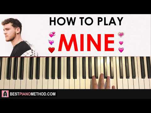 HOW TO PLAY - Bazzi - Mine (Piano Tutorial Lesson)