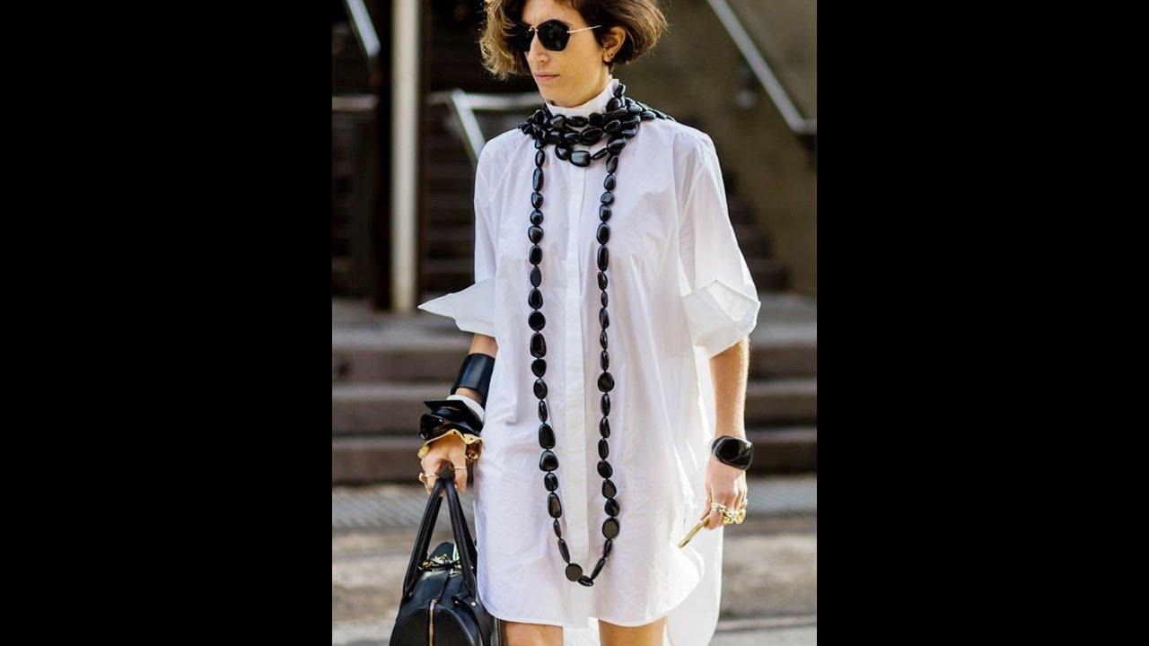 Shirt Dresses Chic Street Style Looks Youtube