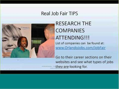 101 Employers- 6,000 Jobs | Diversity Job Fair Tips, Advice and Logistics. Orlando, FL