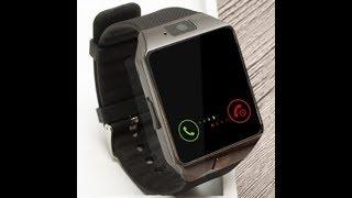 обзор смарт часов dz09 Smart watch DZ09 c Алиэкспресс