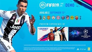 FIFA 19 DEMO HYPE - DEMO OUT TODAY FOR FIFA 19!!!