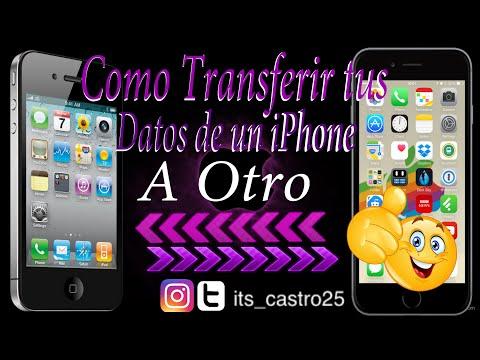 Como Transferir Tu Datos De Un iPhone a Otro