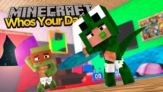 Minecraft : WHO'S YOUR DADDY - BABY SLEEPOVER!