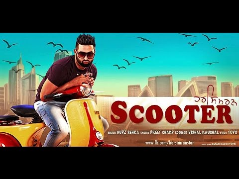 scooter---harsimran---#video-|-latest-punjabi-song-2020---panj-aab-records