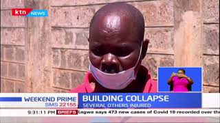 Man killed and several injured after wall they were constructing collapsed in Kawangware