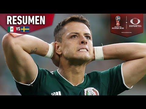 Suecia destroza a México | México 0 -3 Suecia | Mundial Rusia 2018