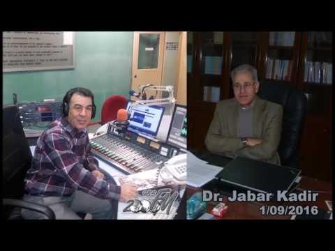 Mostafa Khalil from Radio 2000fm interviews Dr Qadir Jabar regarding Turkey's entry to Syria