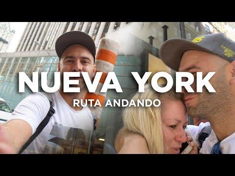 Ruta andando por Nueva York día1. Times Square, compras...