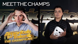 Marc Spelmann and Oz Pearlman Are Bringing MAGIC To The Stage! - America's Got Talent: The Champions