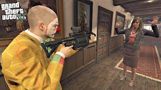 ROBBING HOUSES IN GTA 5!!! 7 (GTA 5 REAL LIFE PC MOD)