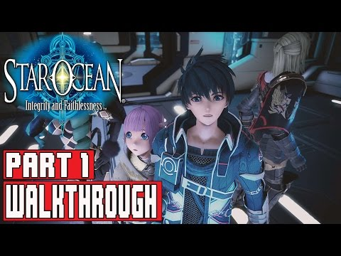 Star Ocean Integrity and Faithlessness Gameplay Walkthrough Part 1 (1080p PS4) - No Commentary