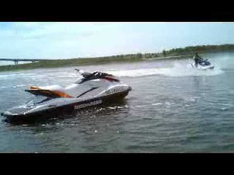 Action Water Sportz Bob Kearns Andre Falcon Jet Ski