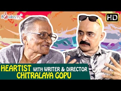 Tamil Cinema writer, director Chitralaya Gopu on Dir Sridhar, Sivaji Ganesan, Nagesh | Bosskey TV