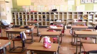 富岡町立富岡第二小学校(平成27年撮影)