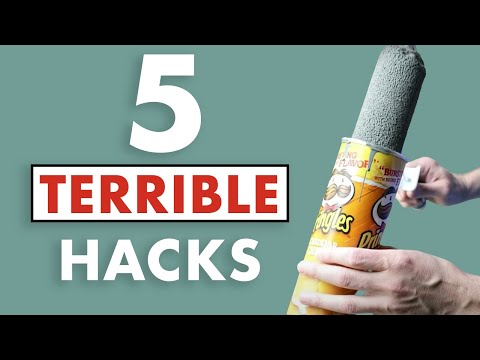 6 BAD Painting Hacks.  These Tips Are NONSENSE!