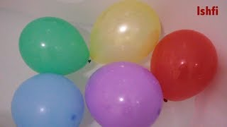 Educational video for Kids Rufi and Ishfi Learn Colors with Balloon