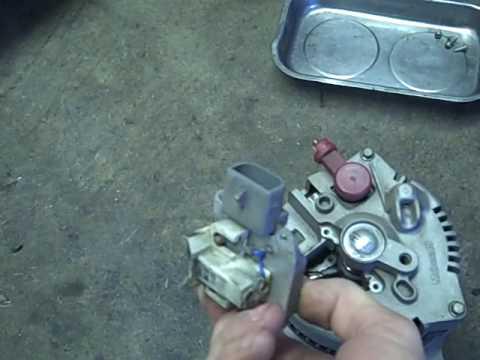 F150 Alternator diagnosis and rebuild repair recondition  YouTube