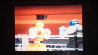 Tyson Fury floors David Price in their amateur boxing fight