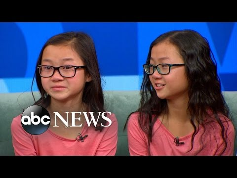 Thumbnail: Twin Sisters Separated at Birth Reunite on 'GMA'