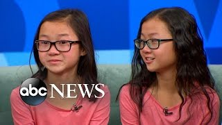 Twin Sisters Separated at Birth Reunite on