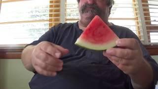 ASMR Eating Watermelon  (No Talking)
