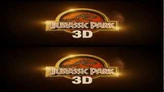 Парк Юрского периода в 3Д [трейлер], Jurassic Park 3D [RUS Trailer]